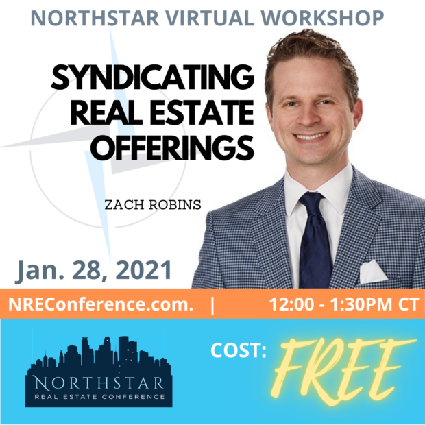 Syndicating Real Estate Offerings – With Zach Robins